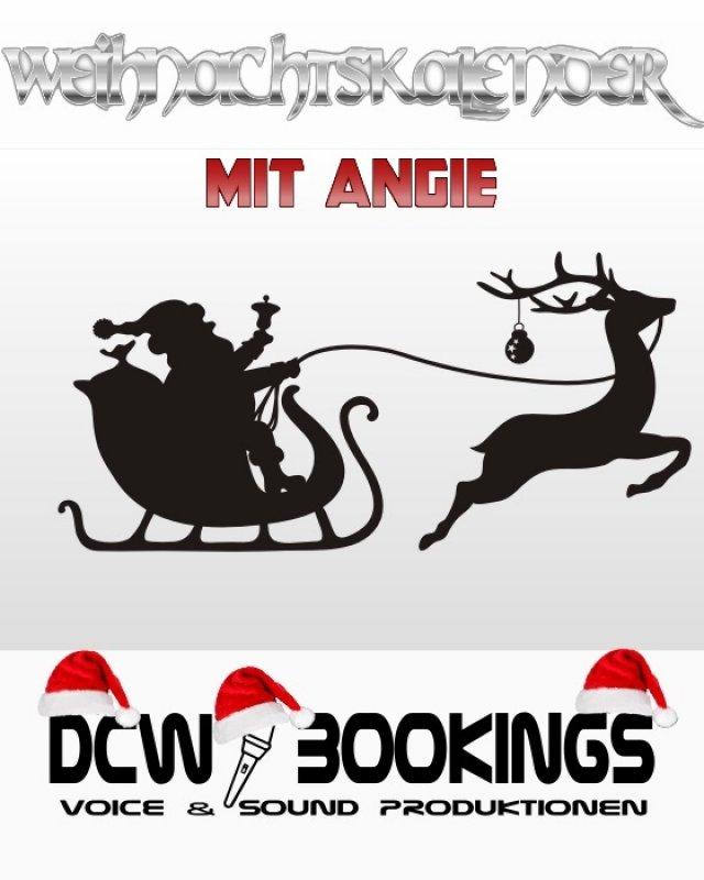 Weihnachtskalender mit Angie