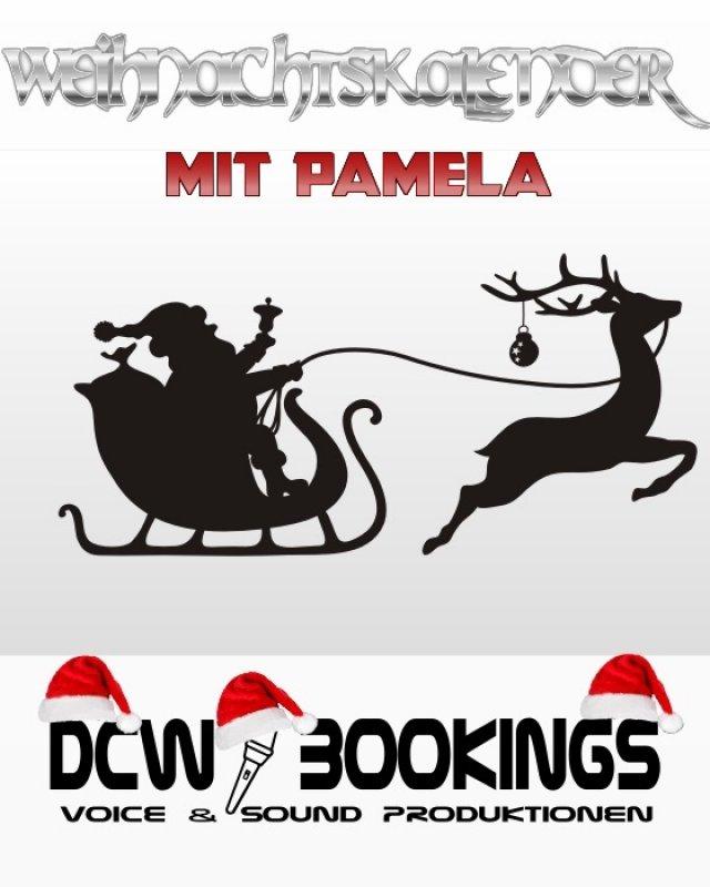 Weihnachtskalender mit Pamela