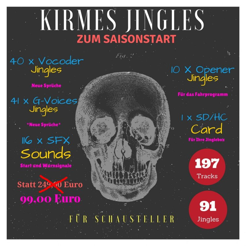 Kirmes Jingles Sparpaket 1 für Schausteller