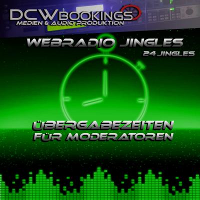 Webradio Jingles - Übergabezeiten für Moderatoren